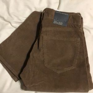 31x32 Banana republic cords new with tags